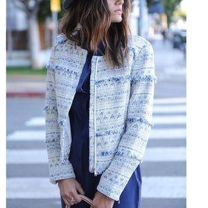 Joie Tweed Crop Blazer